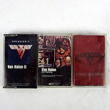 Van Halen Cassette Lot of 3 - II, Fair Warning, For Unlawful Carnal Knowledge