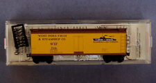 49510 WEST INDIA FRUIT 724  ~ 40' WOOD BOXCAR ~ MTL  MICRO TRAINS N SCALE