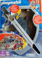 Playmobil with Action Shiled and Sword  - 4 Action figures & Accessories -  New