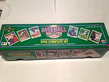 1990 Upper Deck Baseball Complete Set with Sosa RC-NIB factory sealed