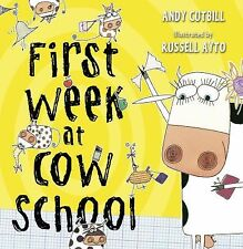First Week at Cow School-ExLibrary