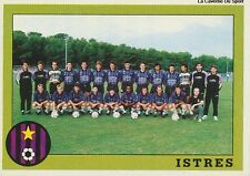 N°316 EQUIPE TEAM FC.ISTRES VIGNETTE PANINI FOOTBALL 94 STICKER 1994