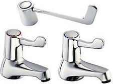 "DEVA Lever Basin Taps With 6"" Long Handles (Pair). DLV101"