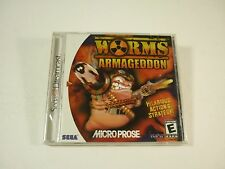 WORMS ARMAGEDDON - Sega Dreamcast - NEW & Factory Sealed - !!!