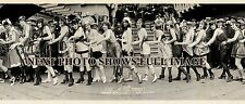 "1920 Balboa Beach, CA Vintage Bathing Beauties Panoramic Photograph 37"" Long"