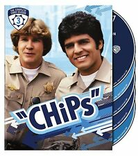 CHiPS - COMPLETE THIRD SEASON 3   -  DVD - UK Compatible  - Sealed