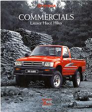 Toyota Liteace Hi-Ace Hi-Lux 2WD 4WD 1991-92 Edition 2 UK Market Sales Brochure