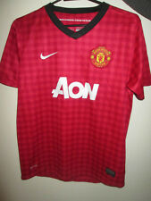 Manchester United 2012-2013 Home Football Shirt Size 12-13 Years /34958