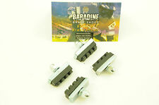 SET OF 4 BARADINE CYCLE BRAKE CALIPER BRAKE BLOCKS RIM BRAKE PADS ,BRAKE SHOES