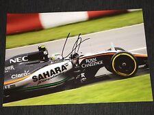 Sergio Perez f1 firmato signed autograph autografo foto 20x30 * TOP *