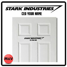 STARK INDUSTRIES IRON MAN, AVENGERS PORTA ADESIVO CEO, Marvel
