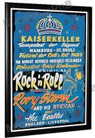 Beatles Hamburg Kaiserkeller Poster Germany 1960