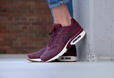 "NIKE AIR MAX BW PRM ""NIGHT MAROON"" # 856477 600 / WOMEN'S TRAINERS / UK 7 EU 41"