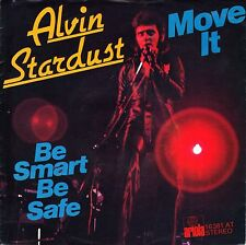 "7"" Alvin Stardust – Move It/BE Smart be safe // Germany 1975"