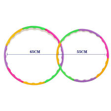 55CM Colourful Kids Hula Hoop Child Sports Aerobics Fitness Gymnastic Adjustable