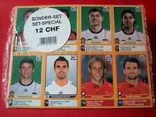 Panini WM 2010 - Alle 80 UPDATE Sticker Schweizer Edition - Sondersticker UPDATE