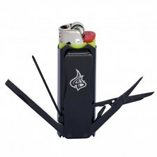 LighterBro Classic Stealth, Multi-tool, Stainless Steel, Lighter Sleeve, BIC