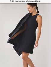 NWT Lululemon &go 'til Dawn Dress SZ 10 BLK Black READ SHIP