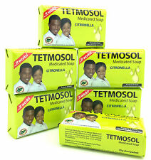 6 X Tetmosol Medicated Soap Citronella 75g Each