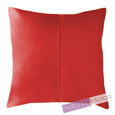 """Red Water Resistant Garden Outdoor 18"""" Filled Scatter Chair Cushion Furniture"""