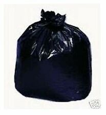 80~ 45 Gallon Black LDPE Garbage Trash Can Liner Bags Waste Clean Up Storage