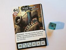 DC Dice Masters Green Arrow and Flash - King Shark, Underwater Aggression #025