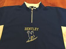 BENTLEY UNIVERSITY BASKETBALL TEAM WARM UP JERSEY NCAA VINTAGE XL T-SHIRT