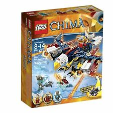 LEGO CHIMA ERIS' FIRE EAGLE FLYER (70142) - RETIRED - NEW IN FACTORY SEALED BOX