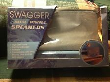 SWAGGER MP3 PANEL SPEAKERS, compatible with ipod, phone, ipad, mp3 players.  blu