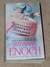 A LADY'S GUIDE TO IMPROPER BEHAVIOR by Suzanne Enoch 2010 PB -SAVE Combine Ship