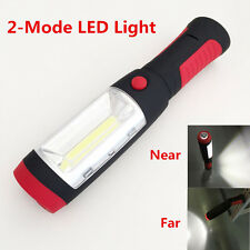 Magnetic LED Hook Light Flashlight Work Lamp Torch 2 Modes Outdoor Camping New