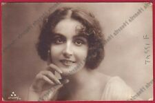 FERNANDA FASSY o FASSI 04 ATTRICE ACTRESS CINEMA MUTO SILENT MOVIE Cartolina FOT