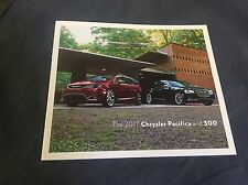 2017 Chrysler Pacifica and 300 Color Brochure Catalog Prospekt