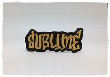 NEW SUBLIME Sew Iron On Patch Embroidered Rock Band Ska Punk Reggae Heavy Metal