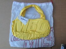 MISS SIXTY UNA BAG. YELLOW. BNWT. WITH DUST BAG COVER.