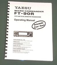 Yaesu FT-90R Instruction Manual -  Premium Card Stock Covers & 28 LB Paper!