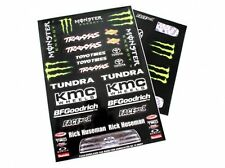 Monster Blk SC Decals Set Matrixline RC