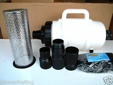 """Carpet Cleaning - Mytee Truckmount Vacuum Line Filter W/ 2"""" Hose Connect"""