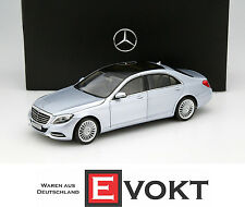 Norev Mercedes-Benz S-Class V222 Model Car 1:18 Silver B66962299 Genuine New