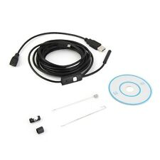 3.5m Waterproof Endoscope Mini HD Camera Snake Tube 7mm Lens USB Inspection