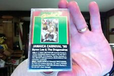 Byron Lee & the Dragonaires- Jamaica Carnival '90- new/sealed cassette tape