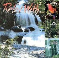 NEW ~ Relax with...Amazon Rain Forest/Walk In Woods/Waterfalls ~ MUSIC CD