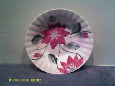 A Very Nice Blue Ridge Poinsettia Round Serving Bowl 3545