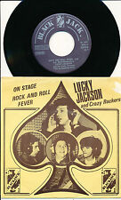 """LUCKY JACKSON AND CRAZY ROCKERS 45 TOURS 7"""" BELGIUM ROCK AND ROLL FEVER"""