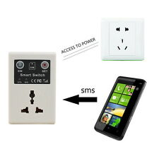 EU plug Cellphone Phone PDA GSM RC Remote Control Socket Power Smart Switch WD