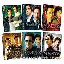 Numb3rs (Numbers) Complete TV Series Seasons 1 2 3 4 5 6 Boxed/DVD Set(s) NEW!