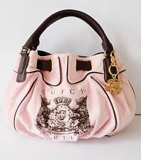 NWT Juicy Couture Scottie Bling Free Style Satchel ~  #YHRU0114~ Pink