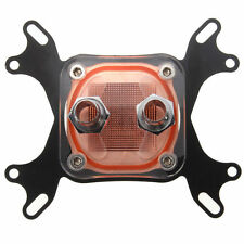 1 X CPU Water Cooling Block Waterblock 50mm Copper Base Cool Inner Channel