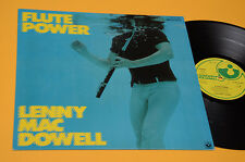 LENNY MAC DOWELL LP FLUTE POWER 1°ST ORIG GERMANY 1978 EX+TOP COLLECTORS !