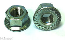 "PAIR OF 5/16"" TRACK NUTS NON SPIN IN SILVER"